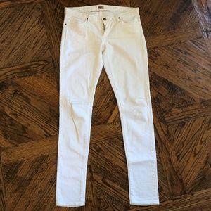 Goldsign White Skinny Jeans